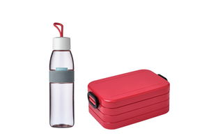 Mepal Lunch-Set 2-tlg. nordic red