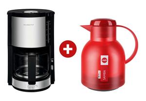 Krups Kaffemaschine Pro Aroma inkl. Isolierkanne Samba
