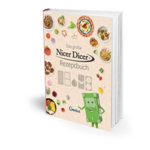 Genius Nicer Dicer Rezeptbuch