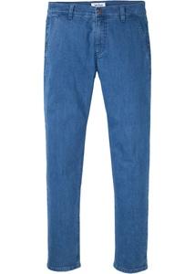 Chino-Stretch-Jeans aus Bio-Baumwolle, Regular Fit