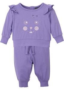 Baby Shirt und Hose (2-tlg.Set) Bio-Baumwolle