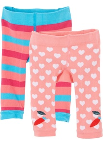 Baby Strick-Leggings (2er Pack)