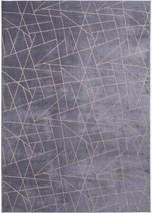 Teppich mit Golddruck