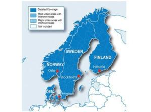 GARMIN City Navigator Europa NT - Skandinavien MicroSD/SD Karte, Kartenmaterial, passend für Navigationsgerät, Schwarz