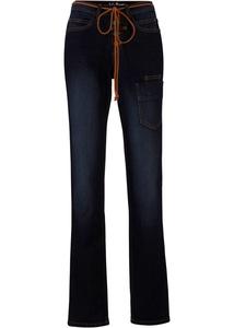 Stretch-Cargo-Jeans, Straight