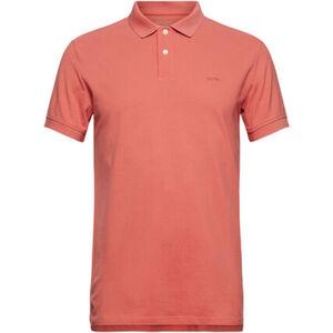 Esprit Poloshirt, uni, Kurzarm, Logostickerei, für Herren