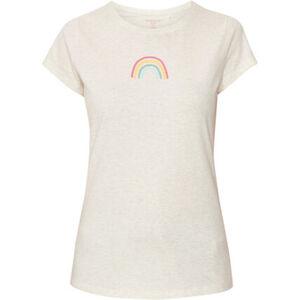 MANGUUN Shirt, Print, Kurzarm, Rundhals, für Damen