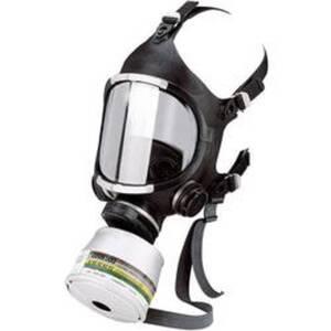 EKASTU Sekur C607/F 466 607 Atemschutz Vollmaske ohne Filter Größe: Uni