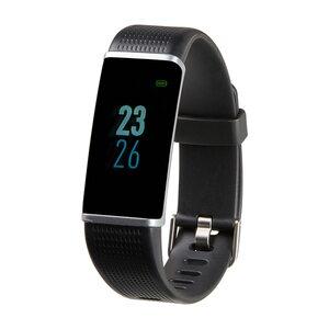 """MEDION LIFE® Fitnessarmband S3500, 2,44 cm (0,96"""") Display, flexibles Armband, Bluetooth, Schlafüberwachung, Kalorienverbrauchsmesser, Schrittzähler, mit Wechselarmband (B-Ware)"""