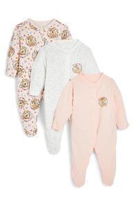 """Rosa """"Disney Bambi"""" Schlafanzüge für Babys, 3er-Pack"""