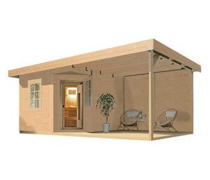 WEKA-Design-Saunahaus »Salo«, inkl. Ofen-Set OS
