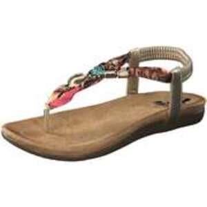 2Go Fashion Sandale Damen gold