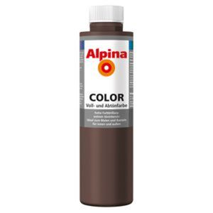 Color Voll- und Abtönfarbe 'Choco Brown' seidenmatt 750 ml