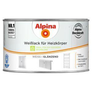 Alpina Weißlack für Heizkörper glänzend 300 ml