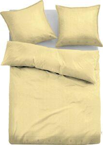 Bettwäsche »Alisa«, TOM TAILOR, aus Leinen und Bio-Baumwolle mit Zusatzkissen 40x40 cm