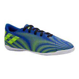 Hallenschuhe Futsal Nemeziz Kinder blau/gelb