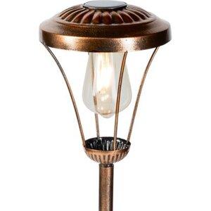 LED-Solarspieß Laterne Vintage