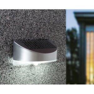 LED Solar-Außenwandleuchte mit Bewegungsmelder Bread