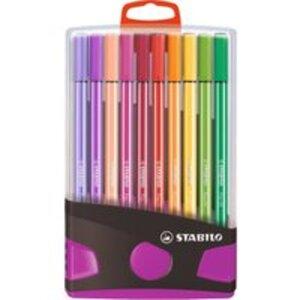 STABILO Filzstift Pen 68 ColorParade in Box pink