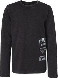 T-Shirt NKMRUHAN , Organic Cotton schwarz Gr. 122/128 Jungen Kinder