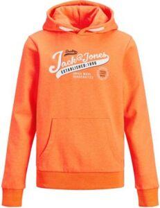 Sweatshirt JJENEON  orange Gr. 176 Jungen Kinder