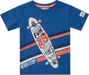 T-Shirt  dunkelblau Gr. 104/110 Jungen Kleinkinder