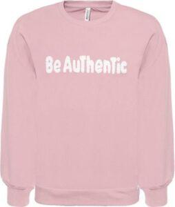 Sweatshirt  rosa/natur Gr. 128 Mädchen Kinder