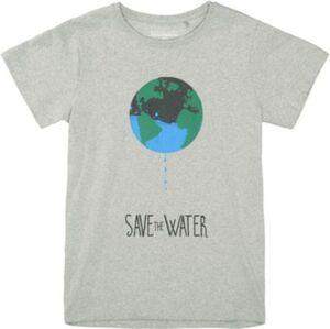 T-Shirt  grey denim Gr. 164 Mädchen Kinder