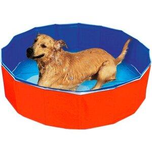 Heim Outdoor-Dog-Swimming Pool Durchmesser 120 cm Höhe 30 cm