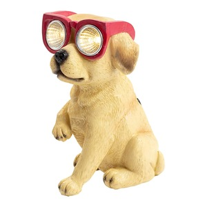 Solarfigur Hund, ca. 9 x 11 x 15 cm