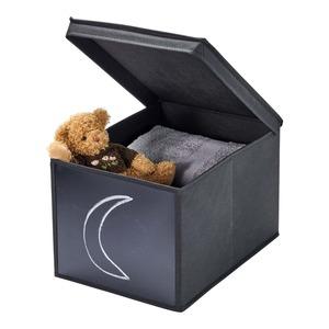 Aufbewahrungsbox mit Tafel, ca. 30x40x25cm