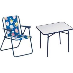 Kinder-Camping-Set Blau 3-tlg.