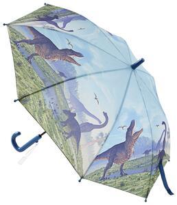 Regenschirm Dino in Blau