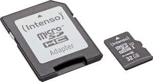 INTENSO  Micro-SDHC-Speicherkarte »UHS-I«