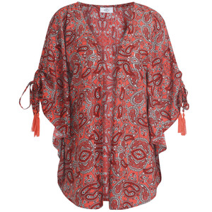 Damen Kimono mit Allover-Print