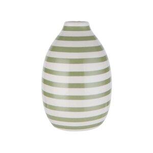 CARO Vase Streifen Höhe 14cm