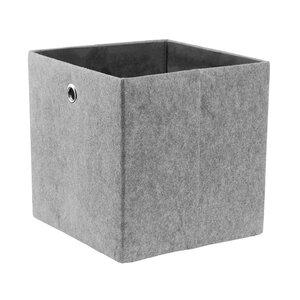 Aufbewahrungsbox 30x30 cm grau