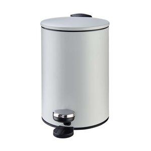 Mülleimer 3 Liter grau
