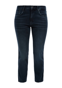 Damen Slim Fit: Slim Ankle leg-Jeans