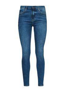Damen Skinny Fit: Jeans mit Schmucksteinen