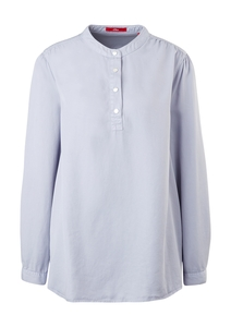 Damen Twill-Bluse aus Lyocell