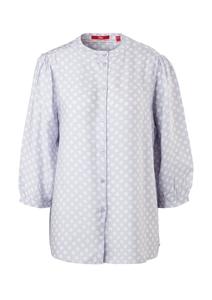 Damen Crêpe-Bluse mit Allover-Print