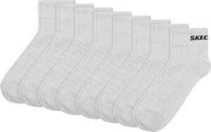 Skechers-Unisex Quarter-Socken im 8er-Pack  Uni  43 - 46