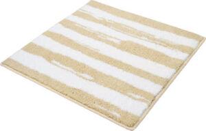 Kleine Wolke Badematte Tunis Fußbodenheizung geeignet#rutschhemmend Streifen  60x90 cm