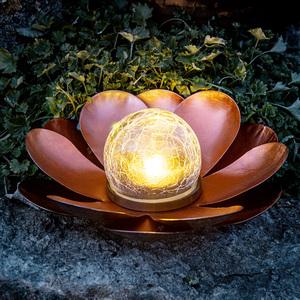 I-Glow LED-Solar Lotusblume