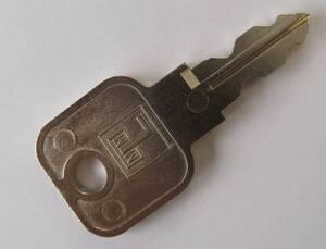 Hauptschlüssel für Zylinderschloss - Schließfach