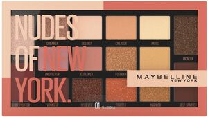 MAYBELLINE NEW YORK Nudes Of New York Lidschattenpalette