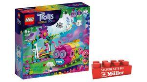 LEGO TROLLS WORLD TOUR - 41256 Regenbogen-Raupenbus