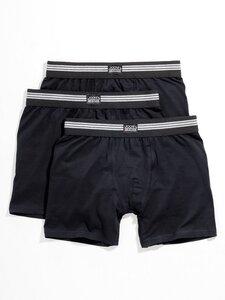 Boxershorts im 3er-Pack Jockey schwarz Größe: 4