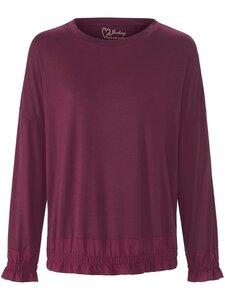 Rundhals-Shirt Jockey lila Größe: 38